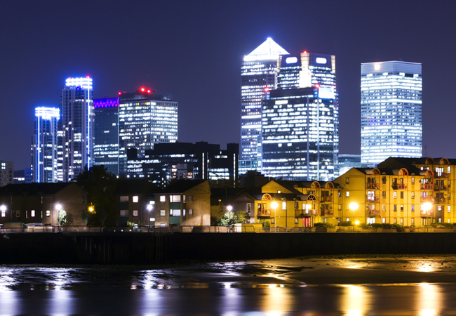 London cityscape ESOS