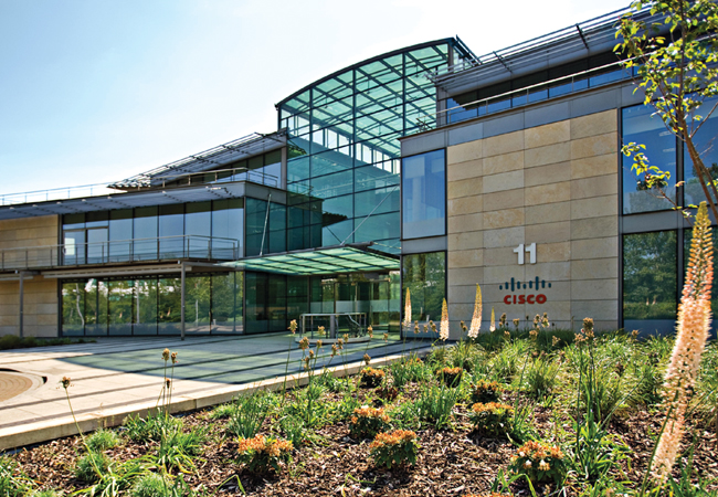 CISCO headquarters, Bedfont Lakes