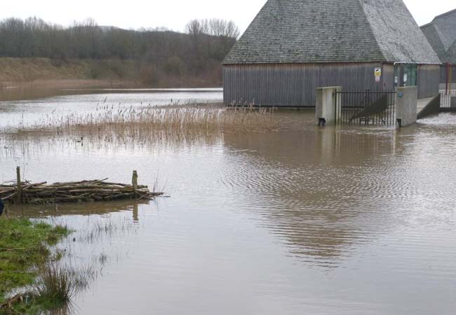 Brockholes rising above a flood Max Fordham