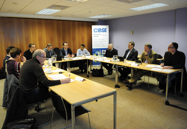 CIBSE Journal roundtable