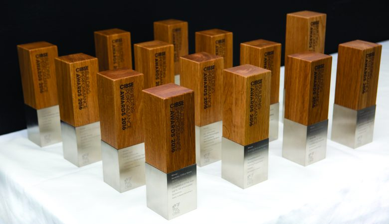 Building Performance Awards trophies CIBSE Journal March 2016