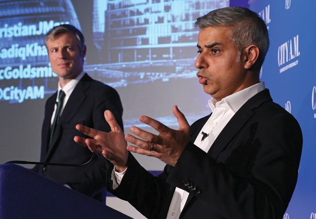 CIBSE Journal May 2016 Mayor of London Zac Goldsmith and Sadiq Khan