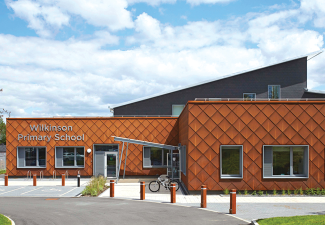 A lesson in passivhaus award winning wilkinson primary Design a sustainable house lesson plan