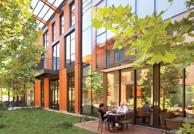 Packard Foundation HQ: net zero energy CIBSE award winner