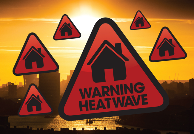 Warning heatwave pic