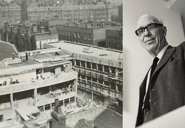 CIBSE Journal July 2016 news Ove Arup exhibition
