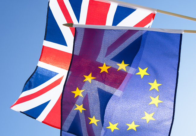 CIBSE Journal August 2016 Brexit flags