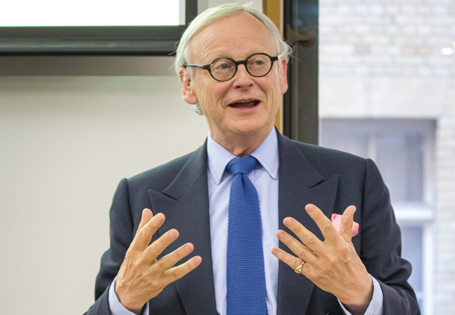 CIBSE Journal November 2016 Lord Deben