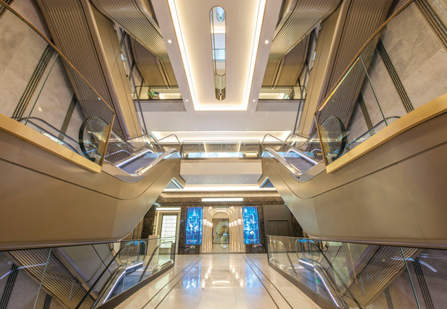 Hall Of Fame Harrods Escalator Refurbishment Cibse