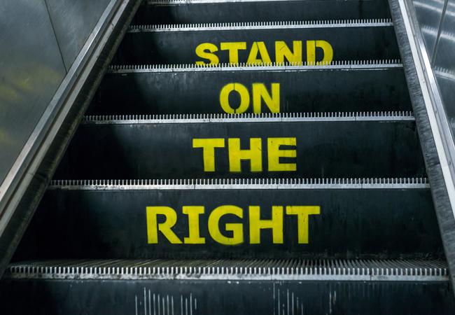 CIBSE Journal April 2017 standing only escalators