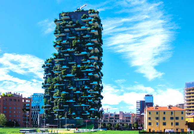 CIBSE Journal May 2017 Green Sky Thinking Bosco Verticale