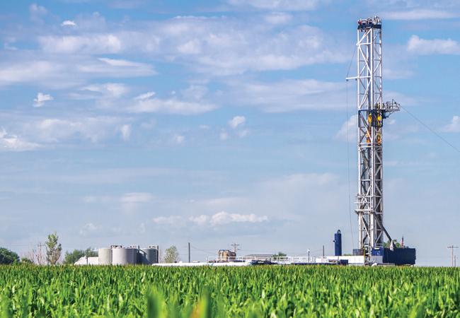 CIBSE Journal June 2017 news Gas fracking