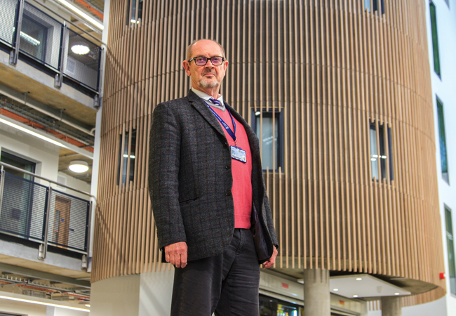 CIBSE Journal February 2018 Jerry Shoolbred clerk of works