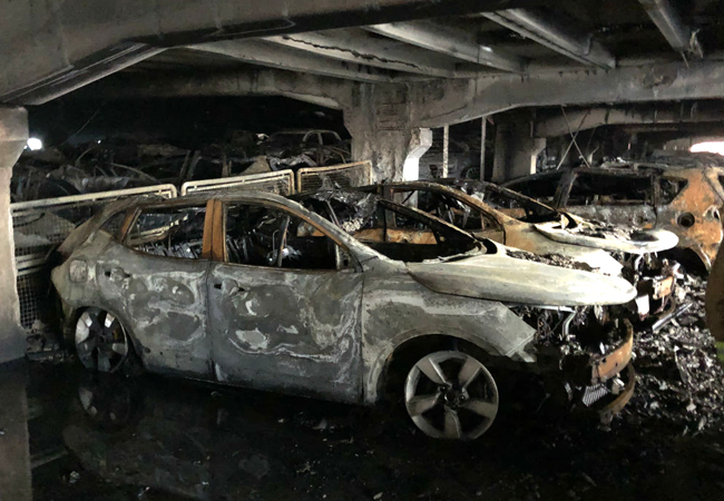 CIBSE Journal February 2018 Liverpool car park fire