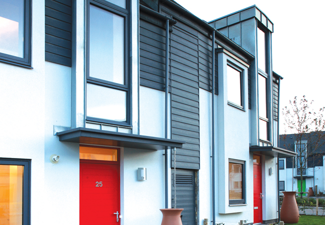 Case study: Killynure Green low energy housing – CIBSE Journal