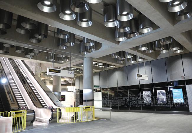 Alight Here For Crossrail Lighting Design On The Elizabeth