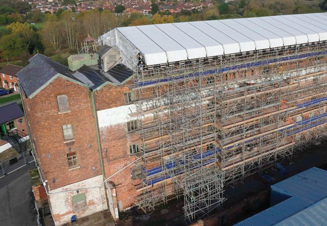 Shrewsbury Flaxmill Maltings Historic England