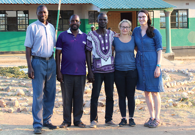CIBSE Journal March 2019 Lucy Pendle in Zambia