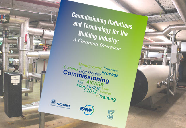 Commissioning Definitions and Terminology for the Building Industry: A common overview