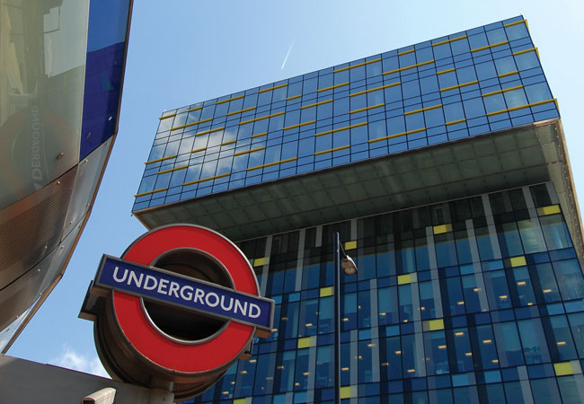 TFL's Palestra building in London