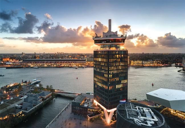A'DAM Tower, Amsterdam Credit: Dennis Bouman