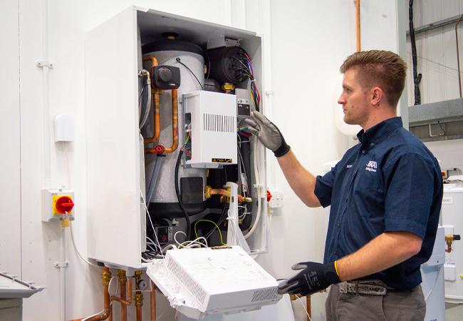 Baxi Heating heat pump installation